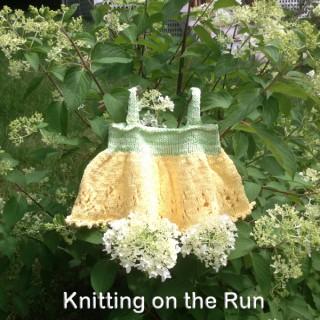 Knitting On The Run