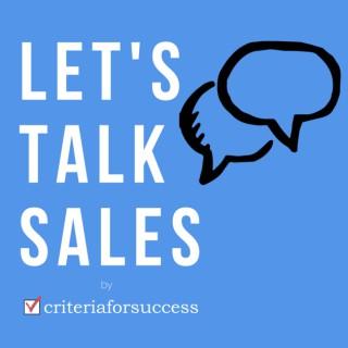 Let's Talk Sales
