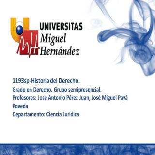 Historia del Derecho (umh1193sp) Curso 2013-2014