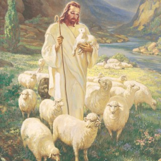 Green Pastures With Jesus--Shepherd of the Lakes
