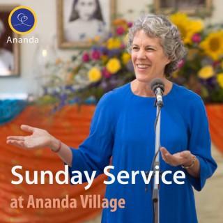 Sunday Service at Ananda Village