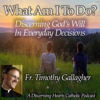 """""""What am I to do?"""" - Discerning the Will of God in Everyday Decisions with Fr. Timothy Gallagher - Discerning Hearts Catholic"""