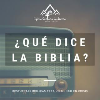 ¿Qué dice la Biblia?