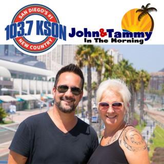 John & Tammy in the Morning on KSON