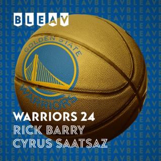 Bleav in Warriors 24 with Rick Barry & Cyrus Saatsaz
