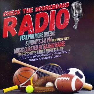 Check the Scoreboard Radio