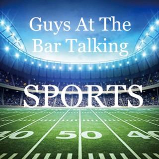 Guys At The Bar Talking Sports