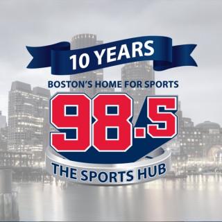 98.5 The Sports Hub 10th Anniversary Celebration Podcast