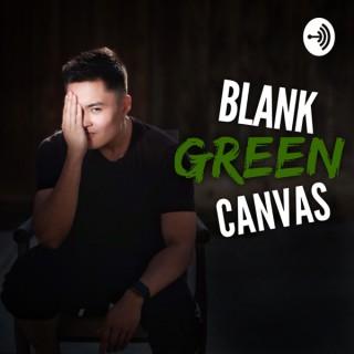 Blank Green Canvas with Noah Villaverde