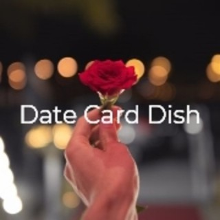 Date Card Dish