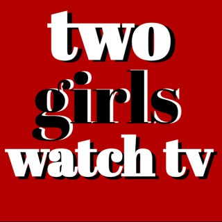 Two Girls Watch TV