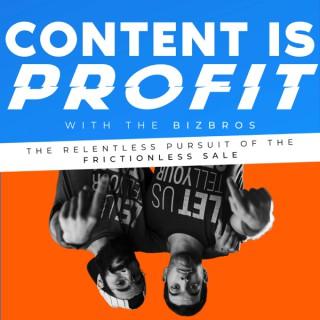 Content Is Profit