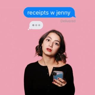 Receipts with Jenny