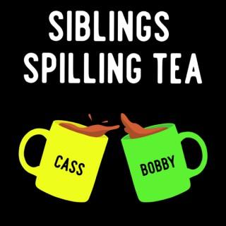Siblings Spilling Tea