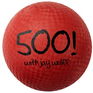 500! with Jay Wolff