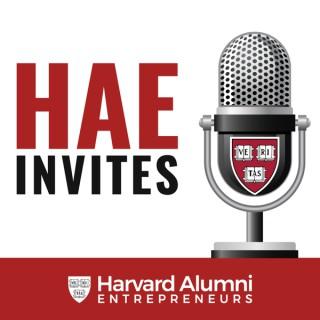 Harvard Alumni Entrepreneurs Invites