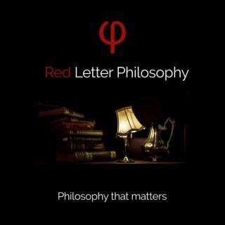 Red Letter Philosophy