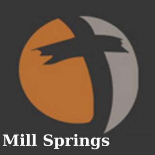 Mill Springs Baptist Church