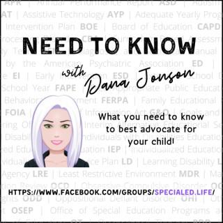 Need to Know with Dana Jonson