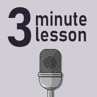 3 minute lesson