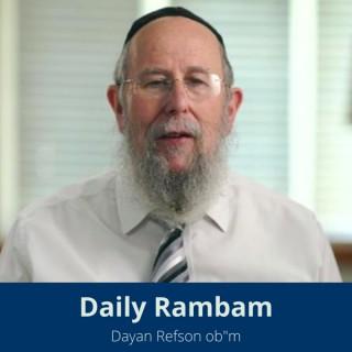 Daily Rambam with Dayan Refson