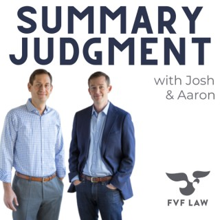 Summary Judgment: The ins, outs, and in-betweens of Personal Injury Law