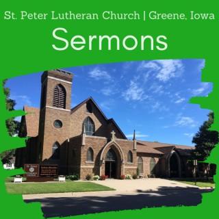 Sermons   St. Peter Lutheran Church in Greene, Iowa
