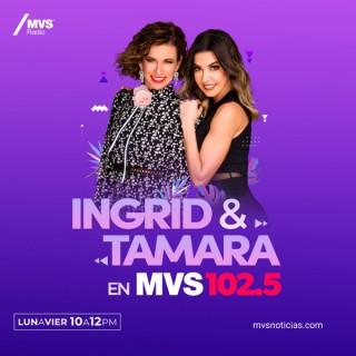 INGRID Y TAMARA EN MVS 102.5