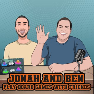 Jonah and Ben play board games with friends