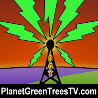 Planet Green Trees