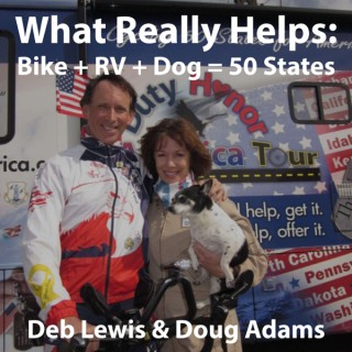 What Really Helps: Bike+RV+Dog=50 States