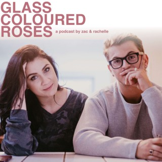 Glass Coloured Roses