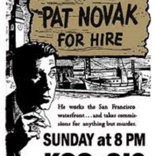 Pat Novak, for Hire