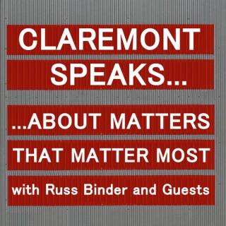 Claremont Speaks...