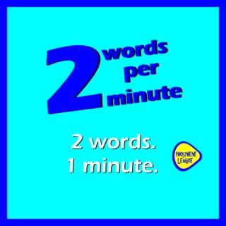 2 words per minute