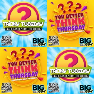 BIG 98.7 - Tricky Tuesday/You Better Think Thursday