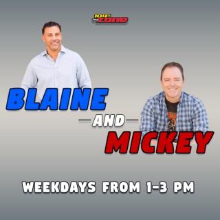Blaine and Mickey