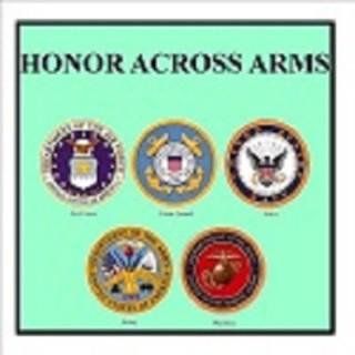 HONOR ACROSS ARMS