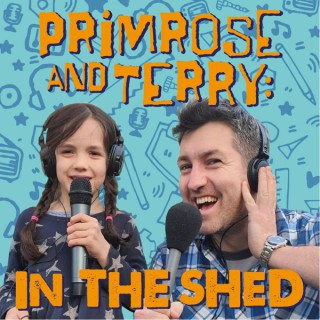 Primrose and Terry: in the shed