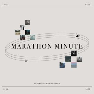 Marathon Minute with Max and Michael Ornstil