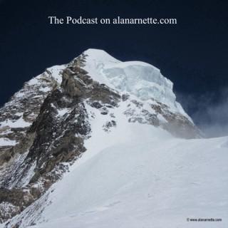 The Podcast on alanarnette.com