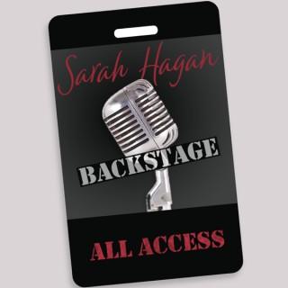 Sarah Hagan Backstage
