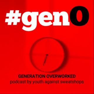#genO: GENERATION OVERWORKED