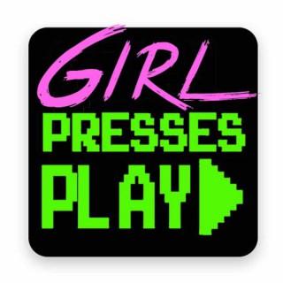 Girl Presses Play