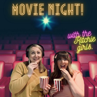 Movie night! With the Ritchie girls.