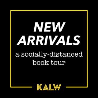 New Arrivals: A Socially-Distanced Book Tour