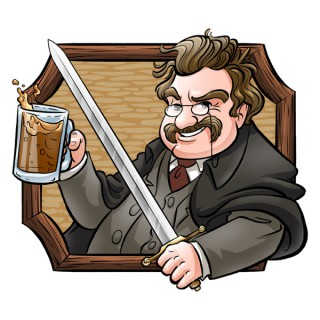 Pints with Chesterton
