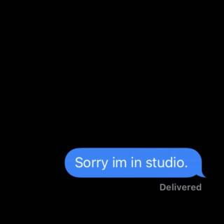 Sorry I'm in Studio.