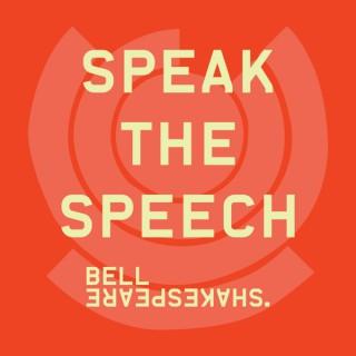 Speak The Speech by Bell Shakespeare