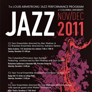 Columbia University Jazz Concerts, Fall 2011